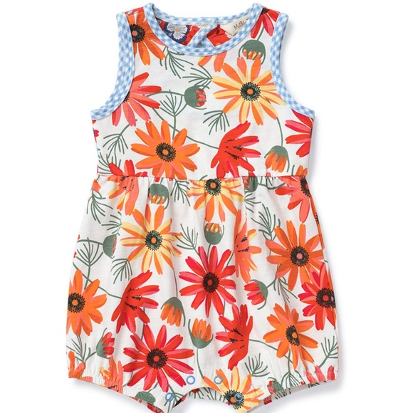 33742560a67 Matilda Jane Ticket To Ride floral romper 18 24 m